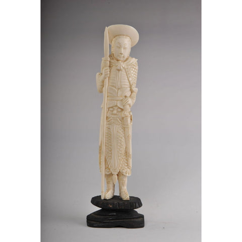 Mammoth Ivory- Japanese Warrior