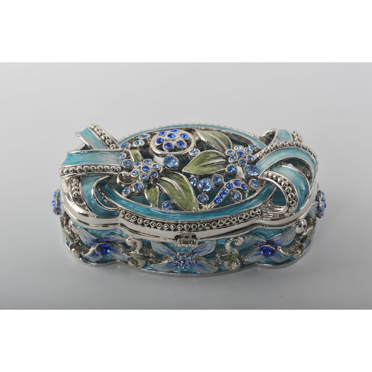 Faberge Style Decorative Trinket Box by Keren Kopal