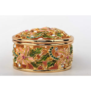Flowers trinket box by Keren Kopal