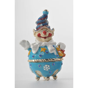 Winter Circus clown by Keren Kopal