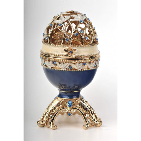 Faberge egg with elephant by Keren Kopal