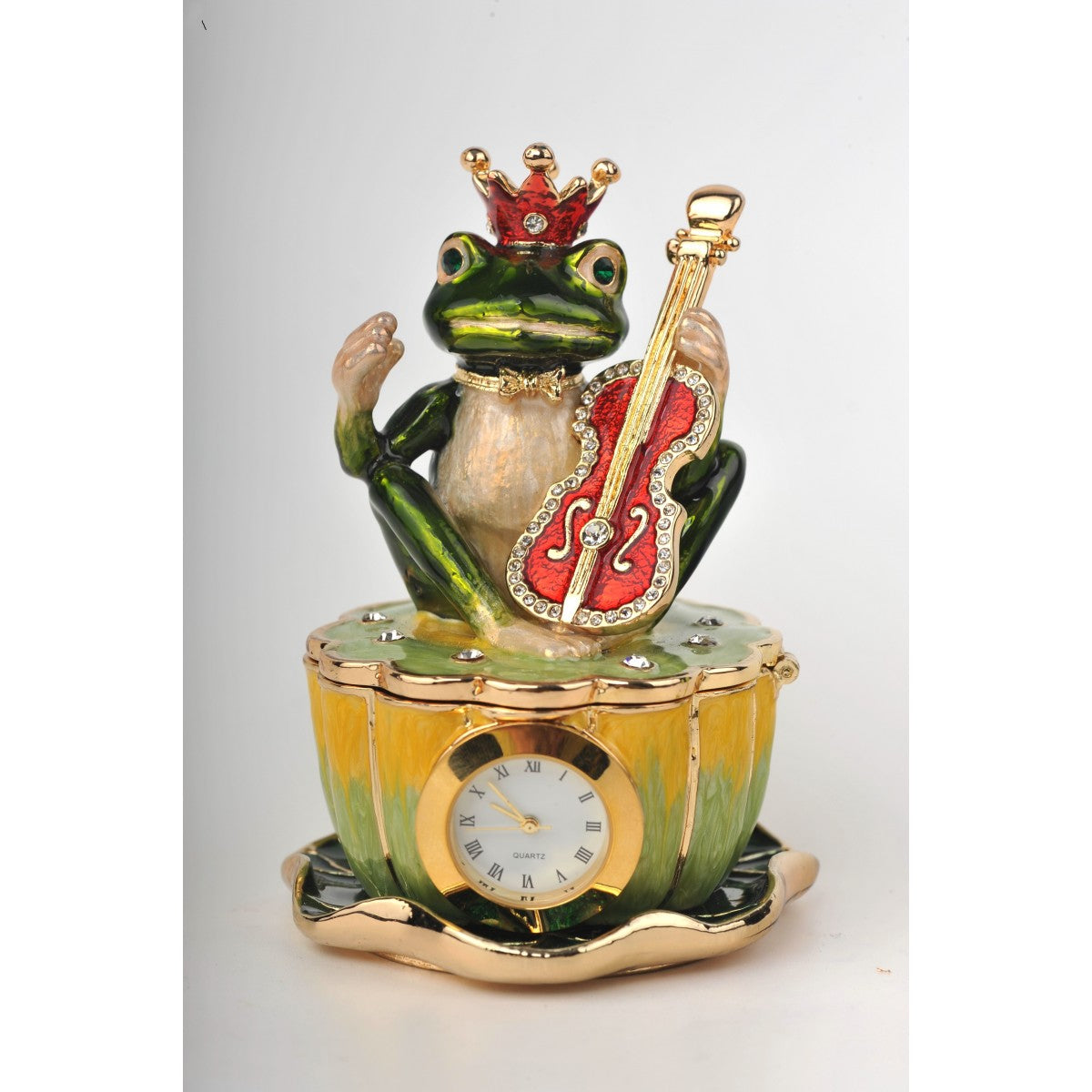 Frog with clock by Keren Kopal
