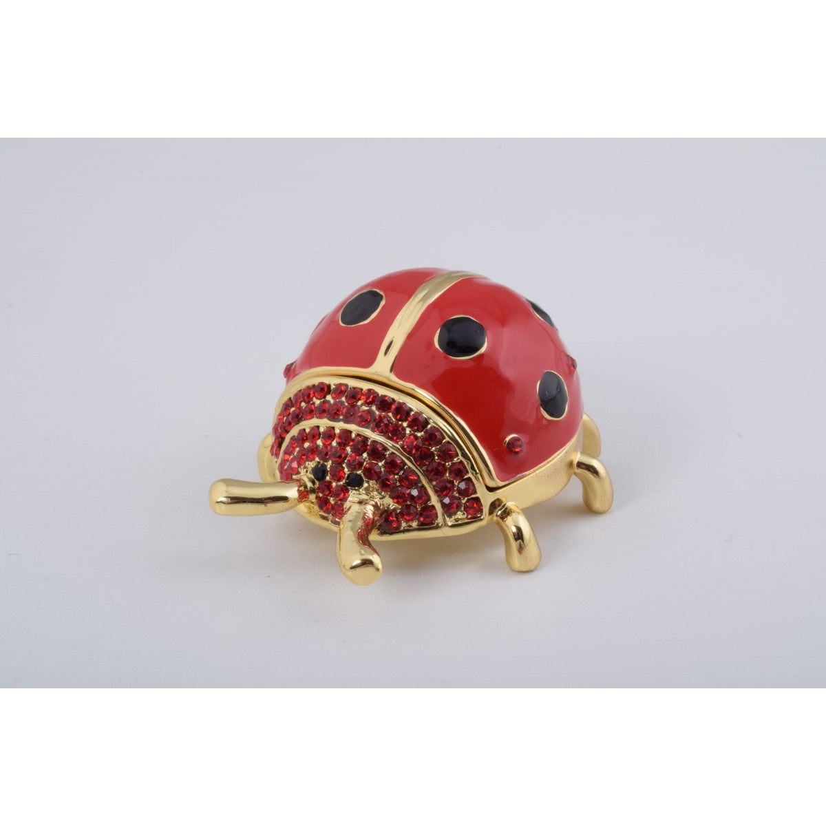 Red Ladybug Trinket Box by Keren Kopal