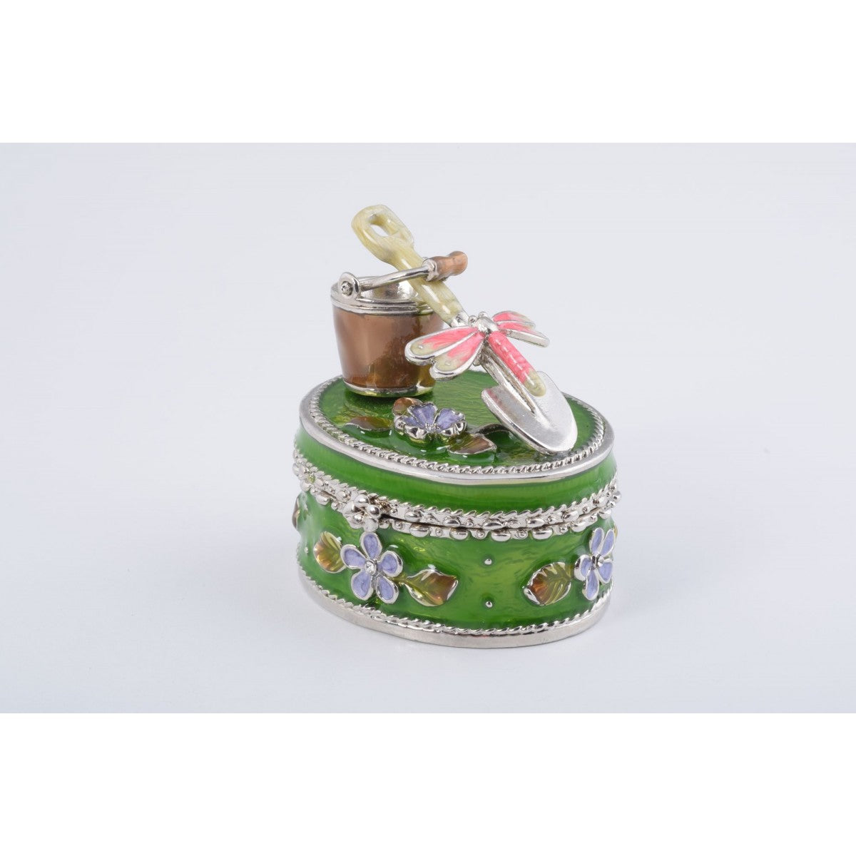 Green Trinket Box by Keren Kopal