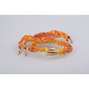 Crab Trinket Box by Keren Kopal