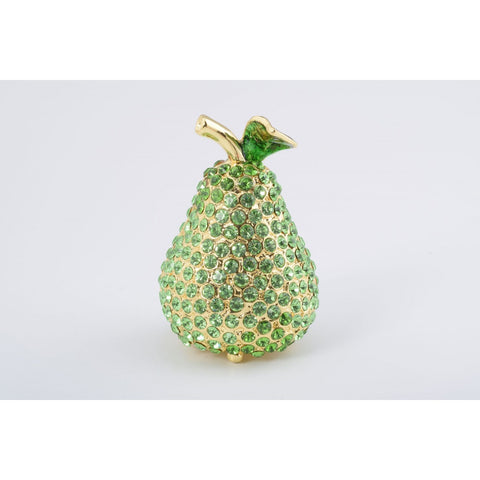 Pear Trinket Box by Keren Kopal