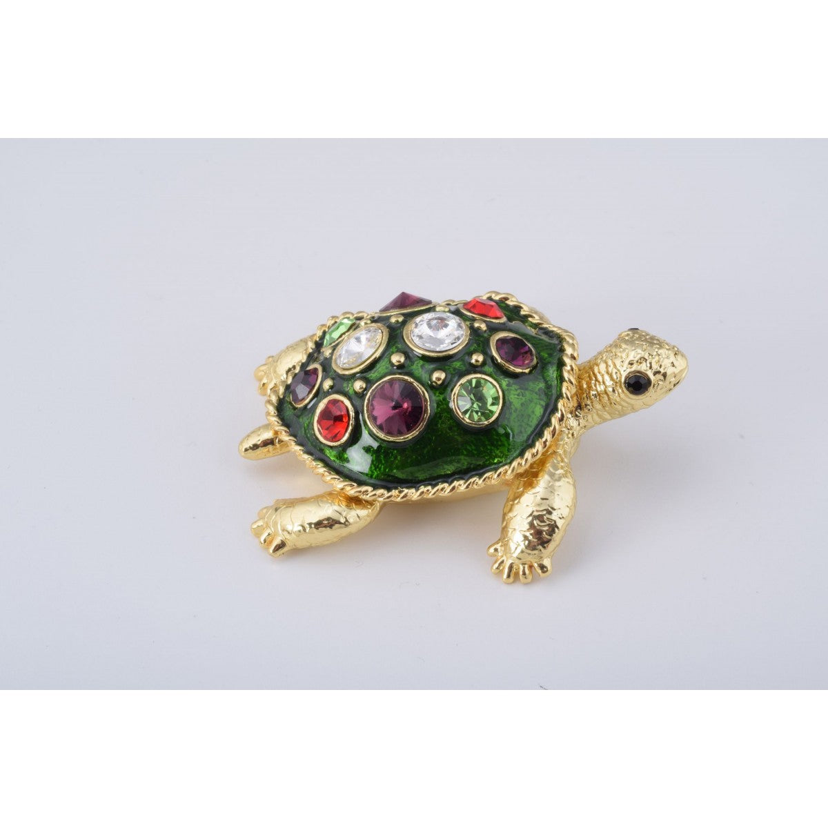 Sea Turtle Trinket Box by Keren Kopal