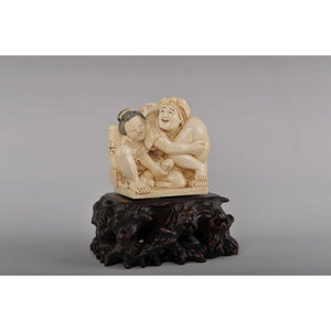 Mammoth Ivory- Erotic scene- Woman Pleasuring Man