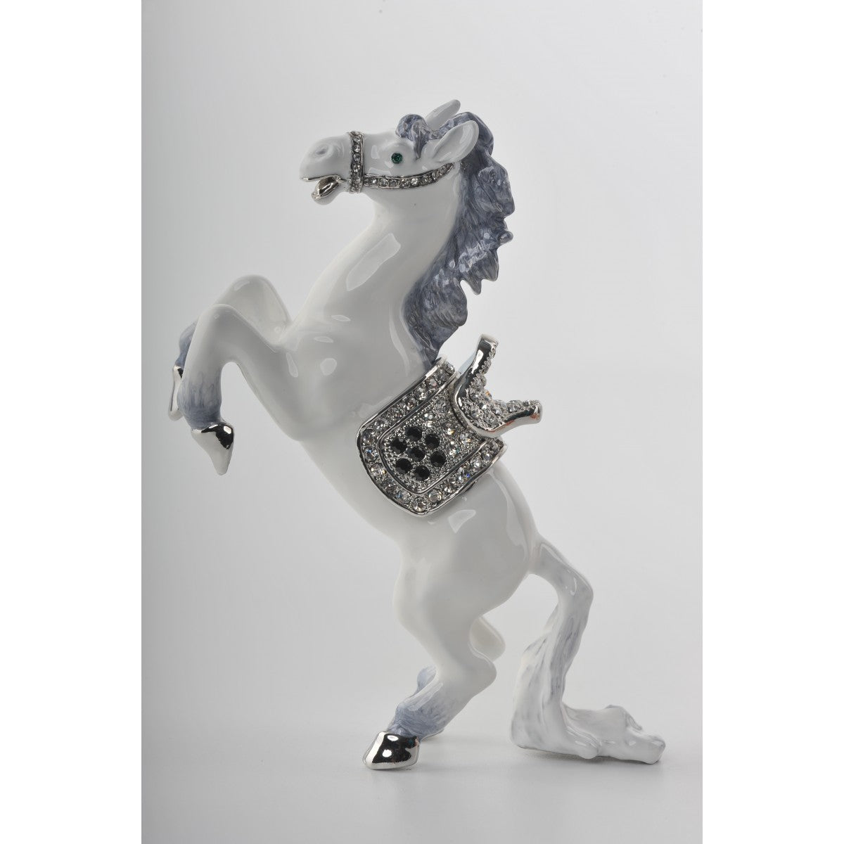 White Horse trinket box by Keren Kopal