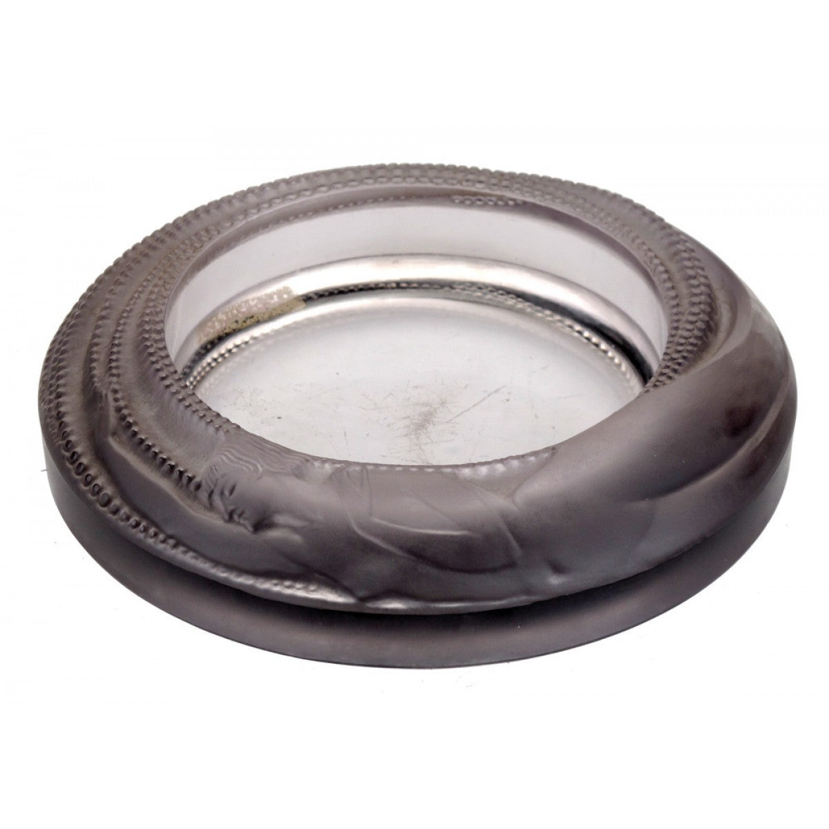 Alique antheor glass ashtray