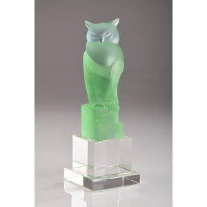 Crystal Green Owl
