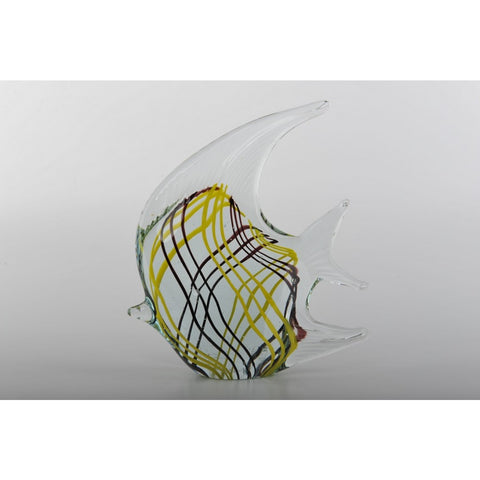 Glass Decoration of Clear Fish