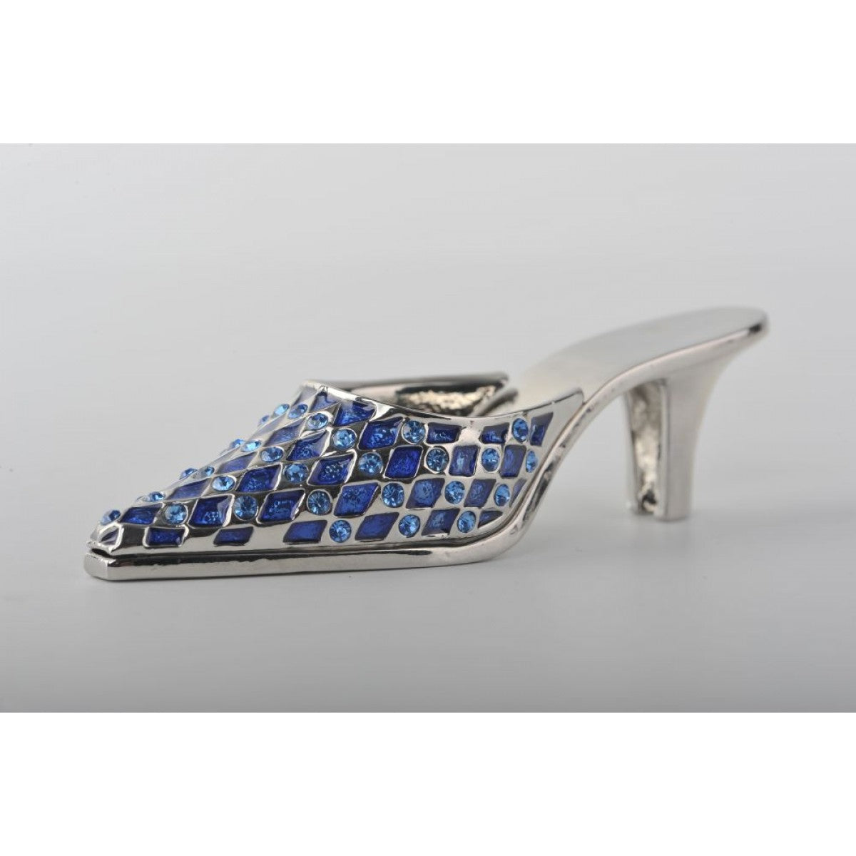 Blue Lady Trinket Shoe by Keren Kopal
