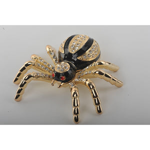 Gold & Black Tarantula Spider