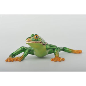 Flexible Green Frog  by Keren Kopal