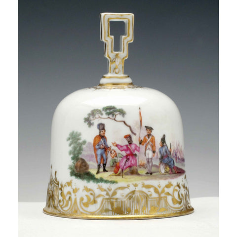 A Meissen Porcelain Table Bell