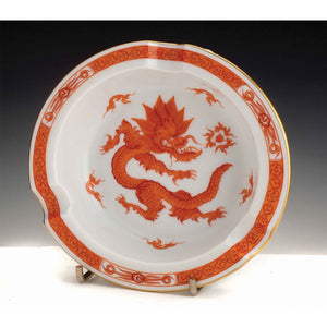 A Meissen Porcelain Ashtray