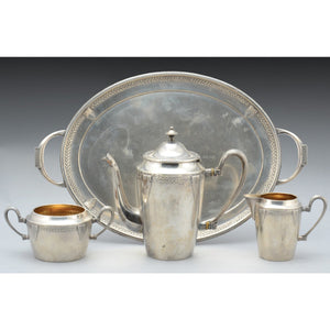 WMF art deco coffee set
