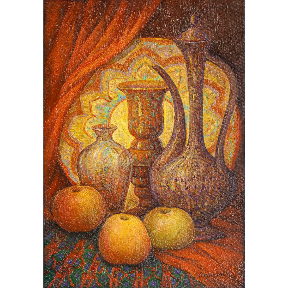 Fruits and Pitchers by Marina Grigoryan
