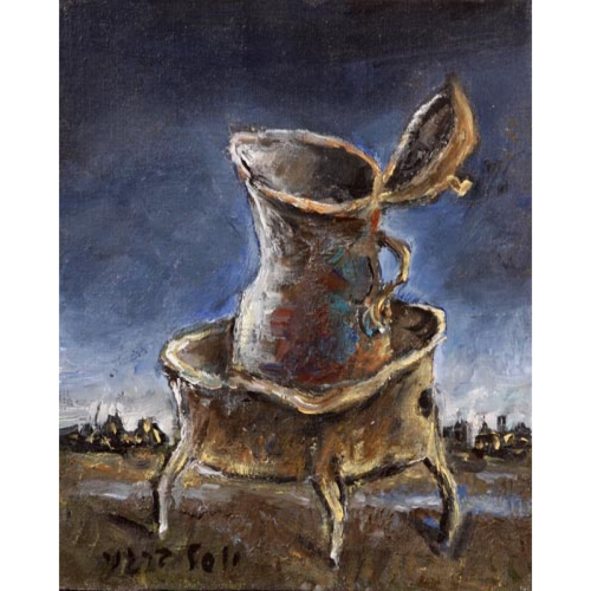 The Jug by Yosl Bergner