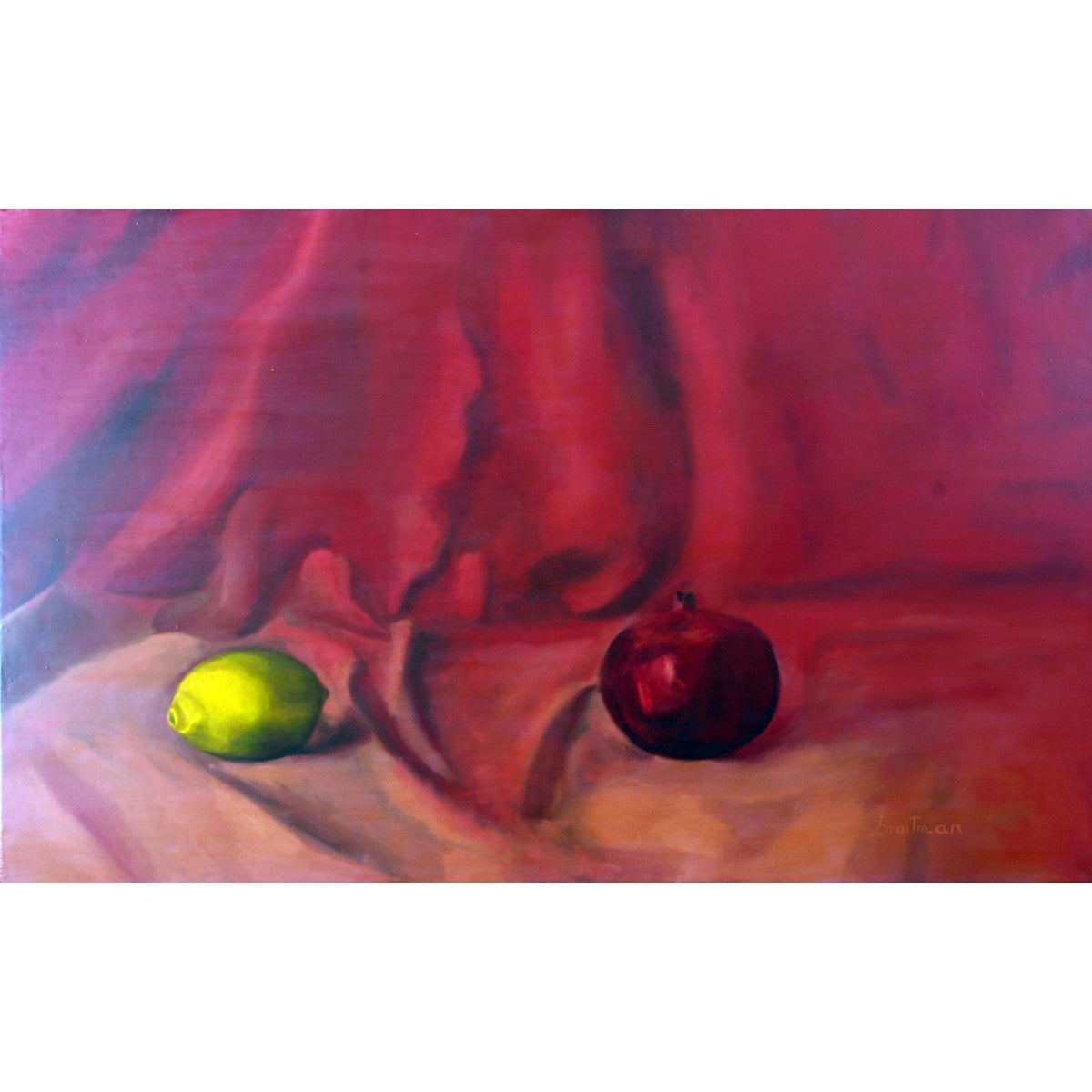 Pomegranate and Lemon by Yehuda Broitman