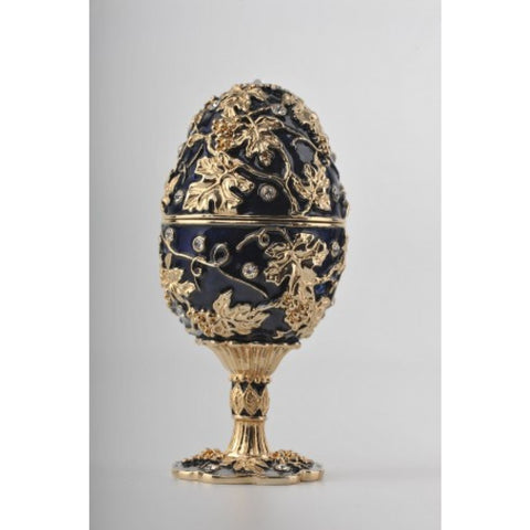 Faberge Egg with a Teddy Bear Inside by Keren Kopal