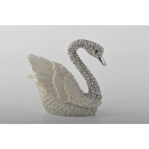 White Swan Trinket Box by Keren Kopal