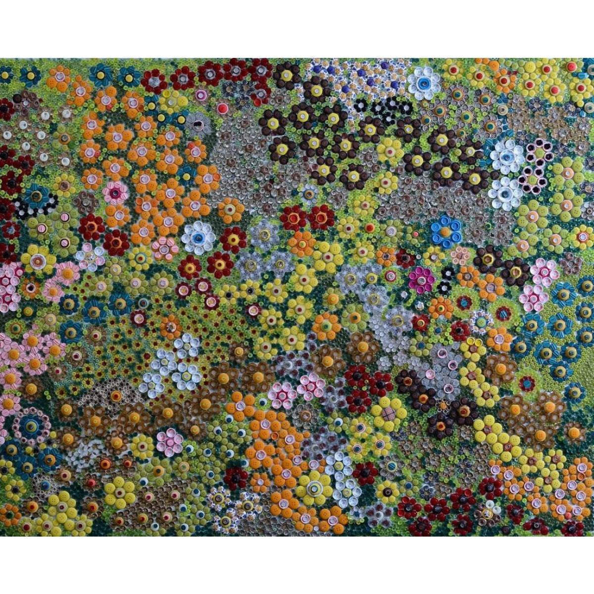 Flowers in Buttons_2 by Tal Sher