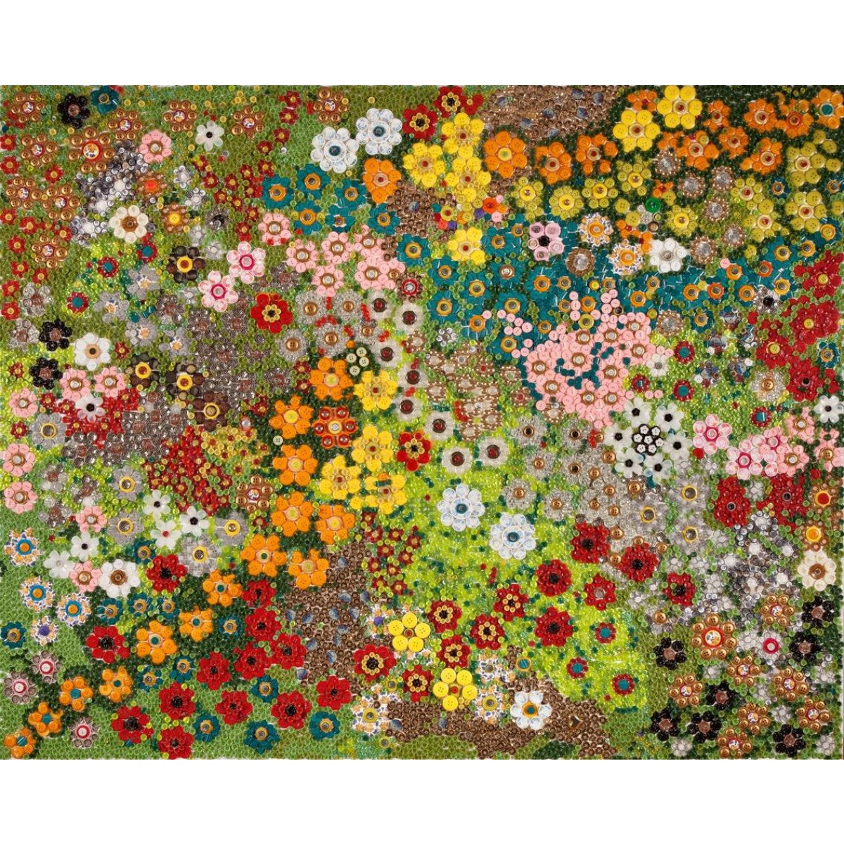 Flowers in Buttons_4 by Tal Sher