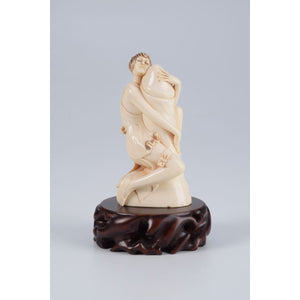 Mammoth Ivory- Erotic scene- Woman and a cock