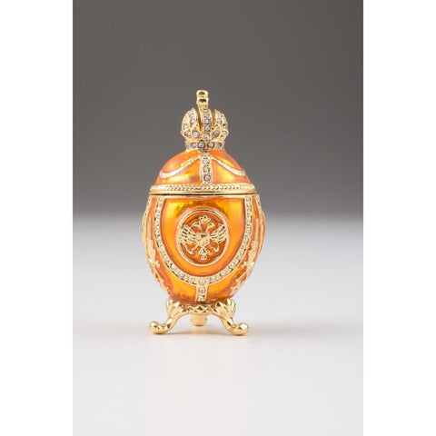 Yellow Faberge Egg by Keren Kopal