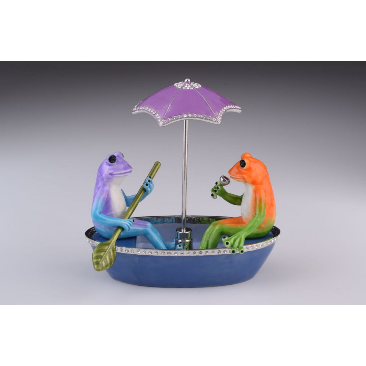 Two Frogs in a Boat