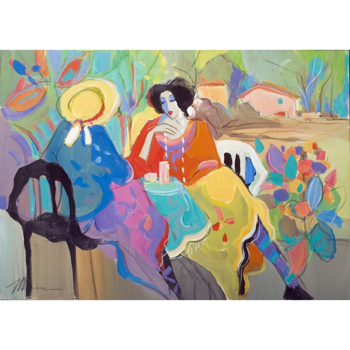 Tea Time by Isaac Maimon