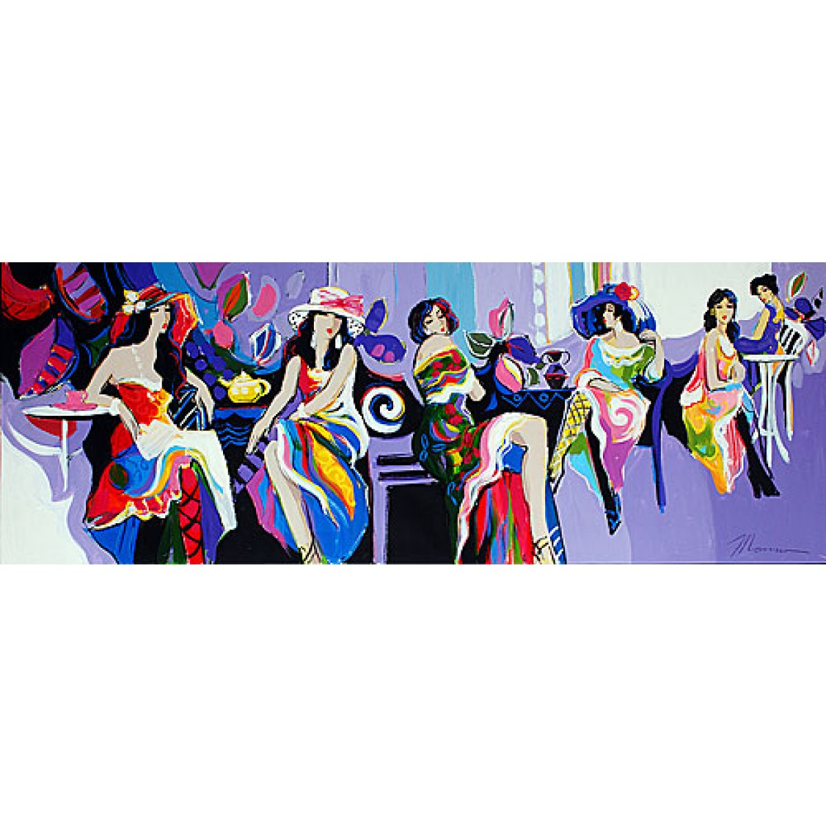 A Night Out by Isaac Maimon