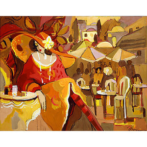 Sunset Thoughts by Isaac Maimon