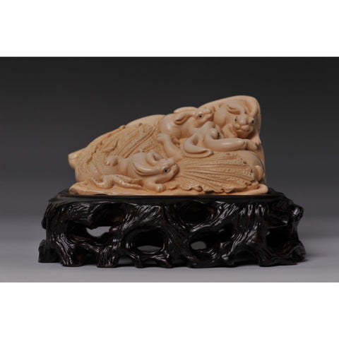 Mammoth Ivory- Rabbits