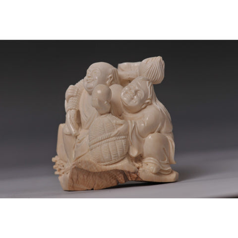 Mammoth Ivory- Father and son