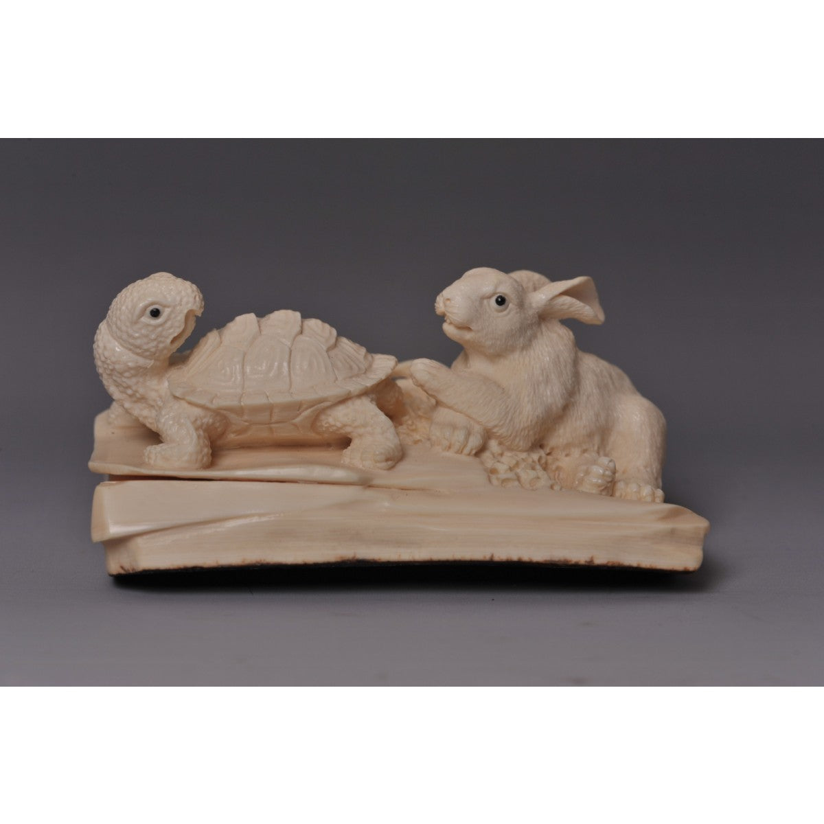 Mammoth Ivory- Turtle and Rabbit