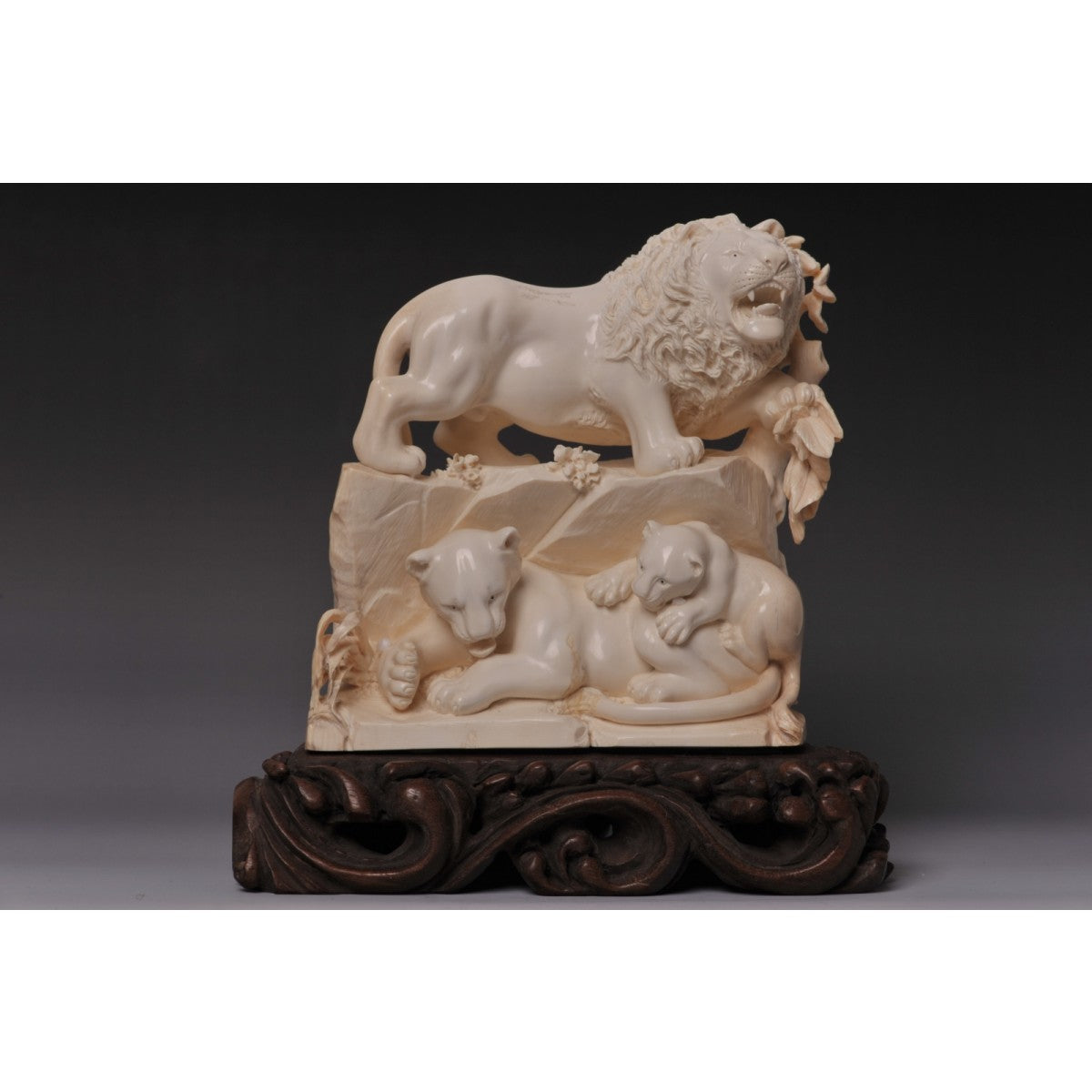 Mammoth Ivory- Lions Family