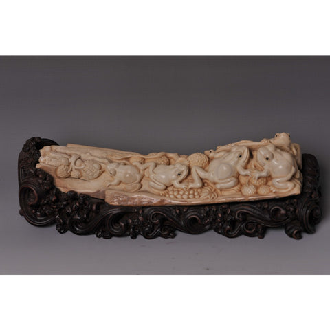 Mammoth Ivory- Frogs