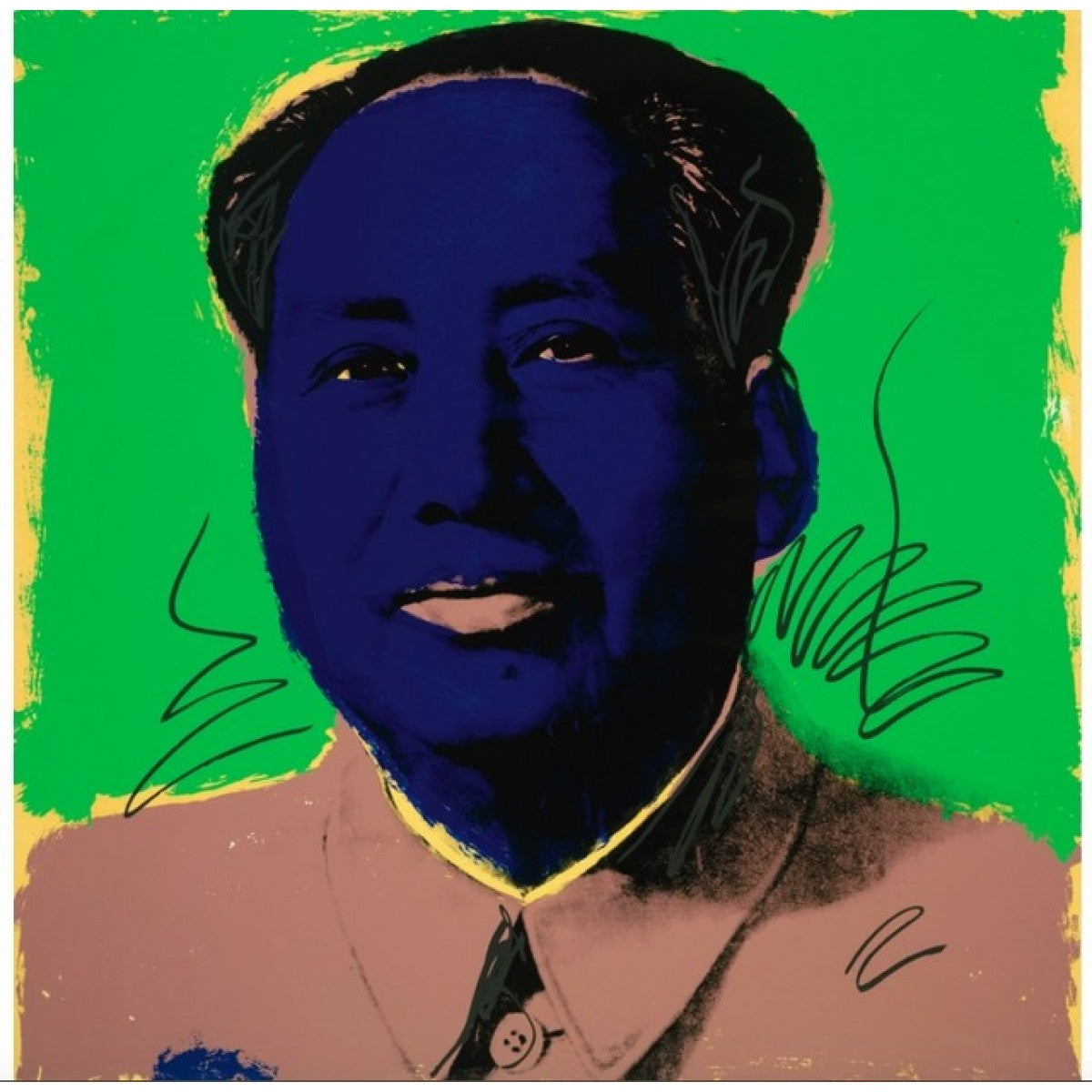 Mao (F. & S. ll.90), 1972  by Andy Warhol (1928-1987)