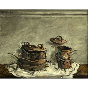 Pots and Pans by Yosl Bergner