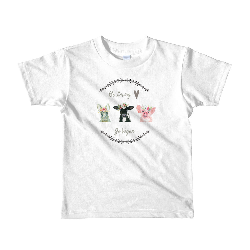vegan T-shirt for Kids Vegan Clothing Material