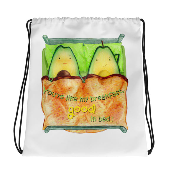 Cruelty Free Shop Vegan Drawstring Bag