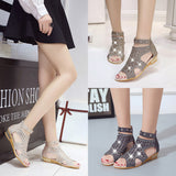 Roma:  Wedge Summer Sandals