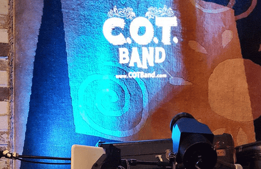C.O.T. Band-15W Indoor projector