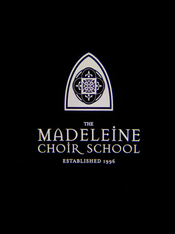 The Madeleine Choir School gobo projetor
