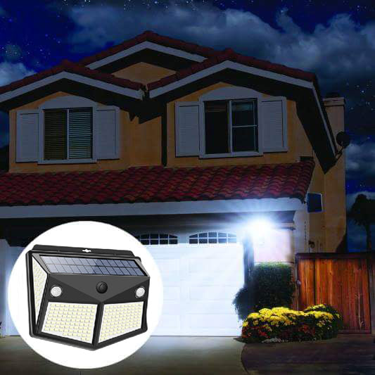 ☀The latest solar sensor wall lamp (30W high power) is waterproof and has 0 electricity bills.☀Up to 50% discount! Order 4 and deliver 5! 8-10 years of service life!!