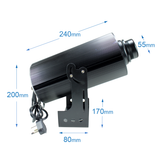 120W Gobo Projector, Rotate, Waterproof  (LE-G12065) - Instagobo