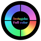 Full Color Glass Gobo Custom Instagobo